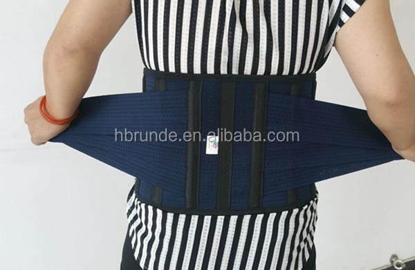 Ceinture de soutien pour attelle arrière Soulagement de la douleur au bas du dos pour hommes et femmes, comprend un coussin amovible