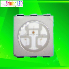 PLCC Top View Light Emitting Diode Epistar Chip 6 pins SMD LED 5050-RGB
