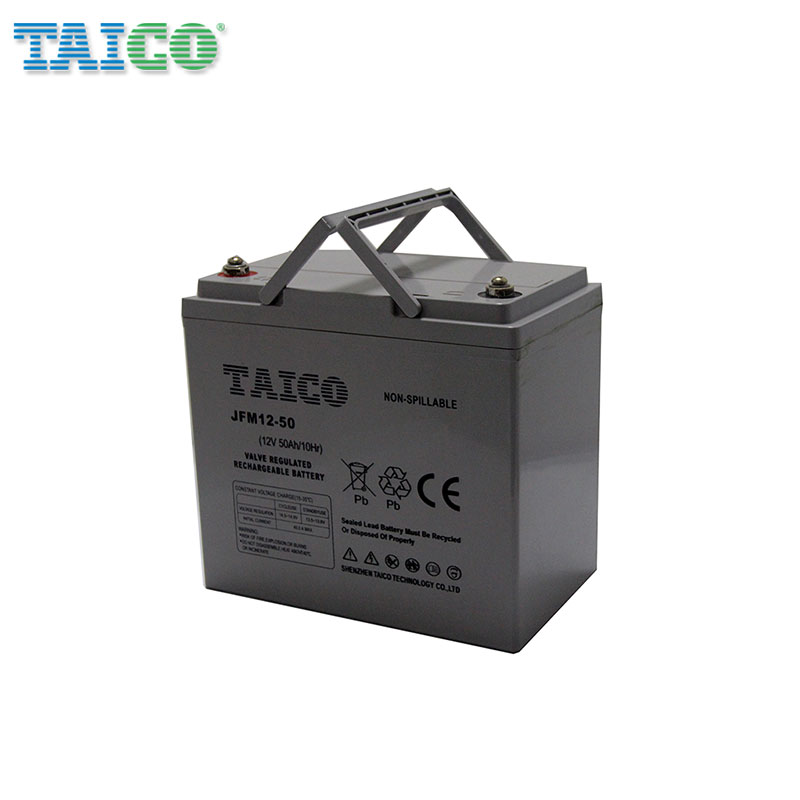 Fast delivery 12v 50ah AGM deep cycle lead acid battery