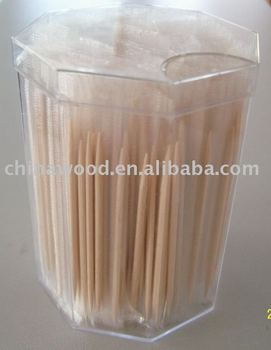 wood toothpick double single point sticks and picks