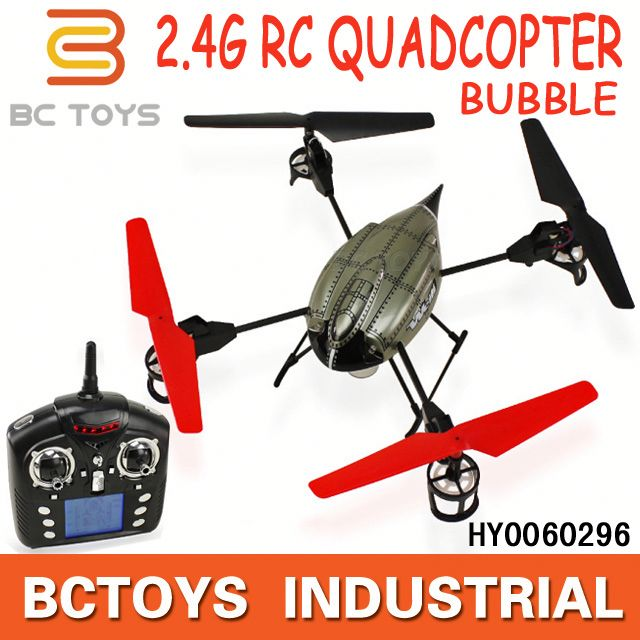WL toys 2.4GHz 4CH beetle V969 rc quadcopter with bubble function used boeing aircraft for sale with light HY0060296