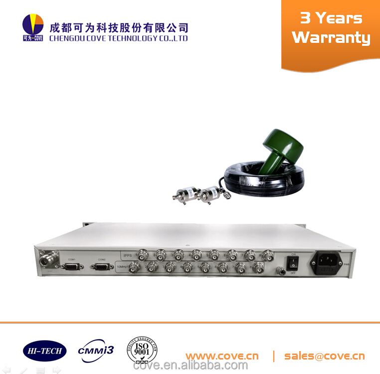 CT-DZ600B 1U rack / 10MHz frequency synchronized server for digital TV and broadcast/ 1PPS output