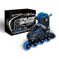 Winmax Hot Sell Professional Semi-soft adjustable dc shoes skate,land roller skate shoes