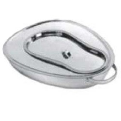 PERFECTION BED PAN STANDARD WITH HANDLE