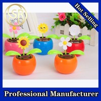 2015 Hot sale solar powered dancing toy, beautiful solar dancing flower