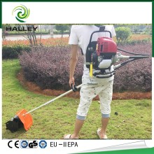 Hand held mini weed removing tractor cultivator weeding machine