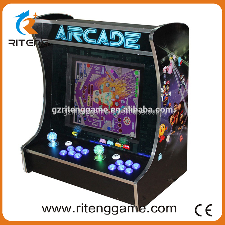Coin Pusher 2 Players Bartop Arcade Game Machine with Pandora Box 3