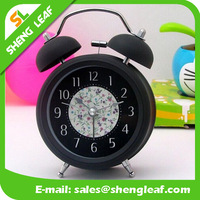 Low price table clock day month year clock