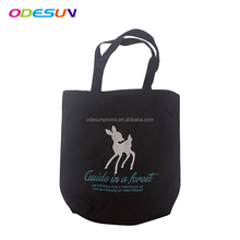 2018 promotional handled cotton canvas shopping beach tote bag