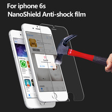 Cell phone accessory nano shield anti shock screen protector for iphone 6s
