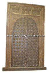 Antique Carved Door from Jodhpur (Royal antique architecturals from India)