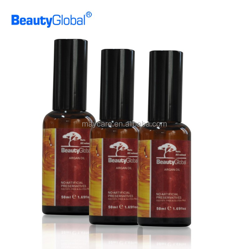 Maycare wholesale high quality private label bio morocco argan oil 50ml