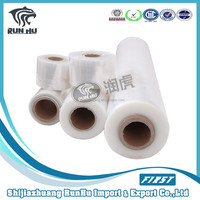 White Machine/Hand Use LLDPE Stretch Film China Clear Wrap Stretch Film