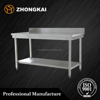 Utility Commercial Kitchens Stainless Steel Work Prep Tables
