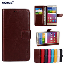 Luxury Flip PU Leather Wallet Mobile phone Cover Case For Huawei GR5 Mini with Card Holder