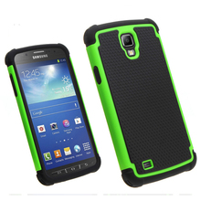 Shockproof Mobile Phone Football Style Hybird Case for Samsung I9295 Galaxy S4 Active
