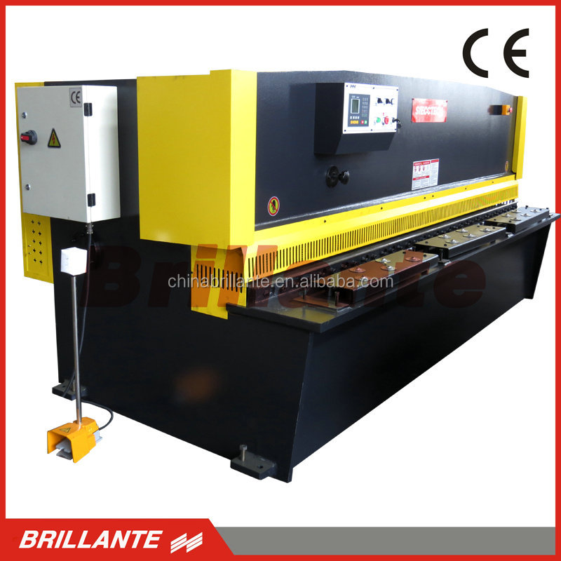 QC12Y/<strong>K</strong> Cnc Hydraulic Plate steel shearer/digital Hydraulic Plate Shearing Machine/Steel guillotine machine