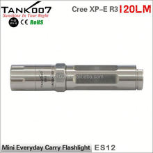 2014 New Cree XP-E R3 Led High Power Stylish small led torch flashlight