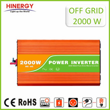 CE high quality 2kw dc ac power inverter 24v to 220v solar power system converter for home application popular in Europe