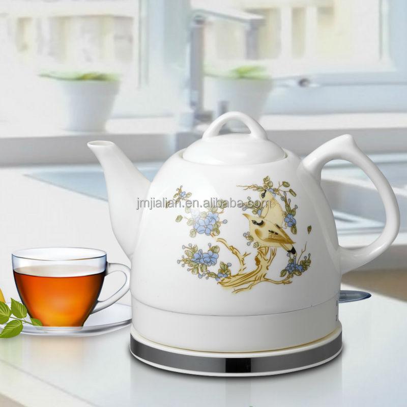 Porcelain Electric Kettle ~ Home appliance l electric ceramic porcelain tea kettle