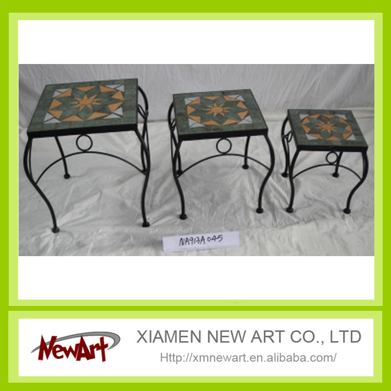 High quality China metal flower pots stand made by China church flower stand