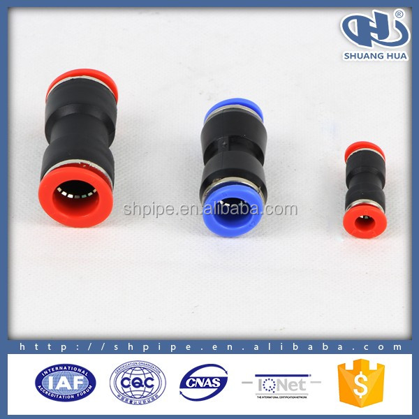 PL8-03 YUMO push in fitting china pneumatic fitting bnc male connector manufacturer