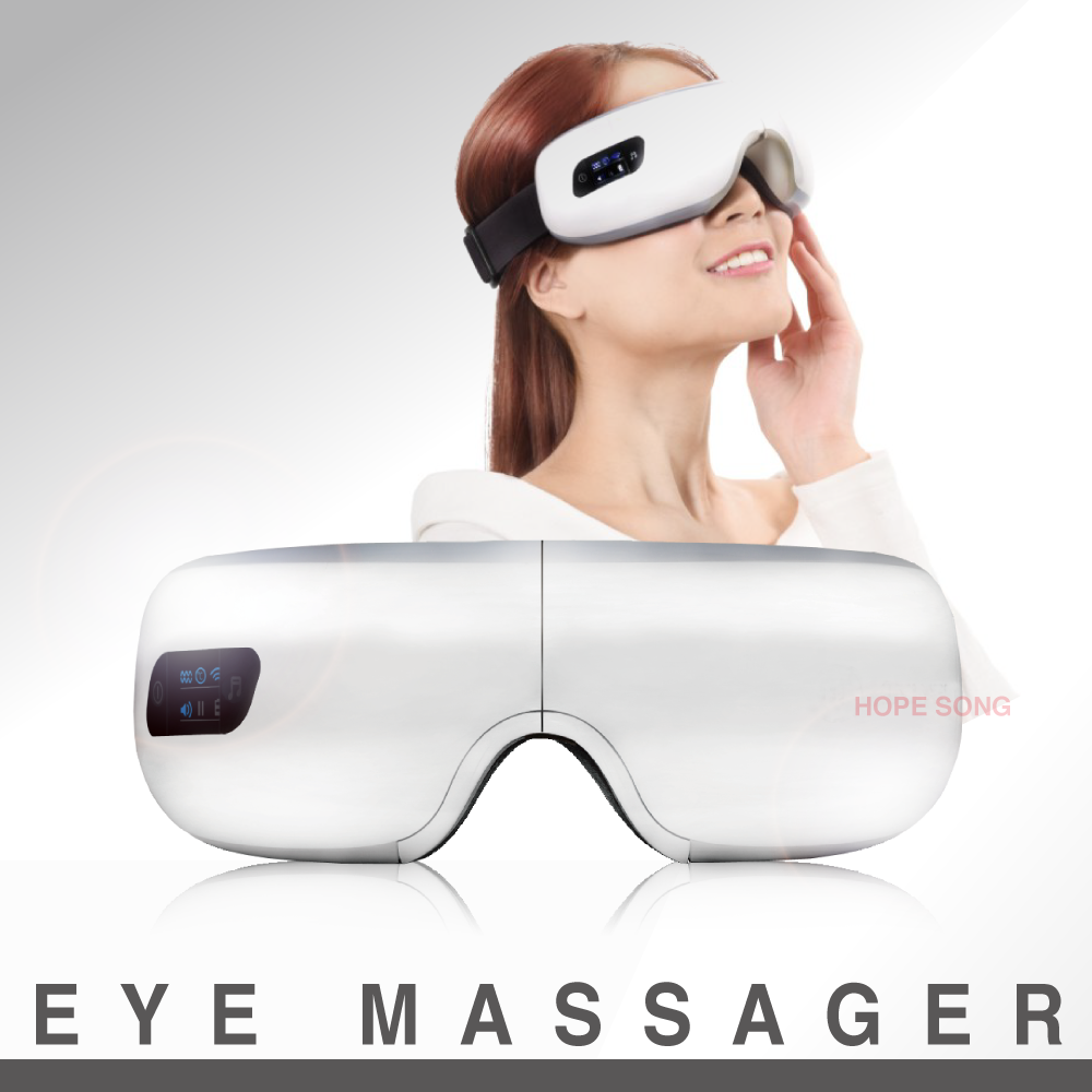 2018 New Design Best Sell Home Use Hot Compress Eye Massager