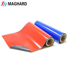 Flexible rubber magnets color thin pvc strip roll