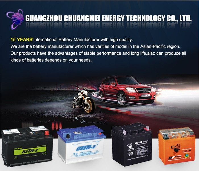 Manufacturer MF55D26L BETN-I MF Type 12v car battery specifications