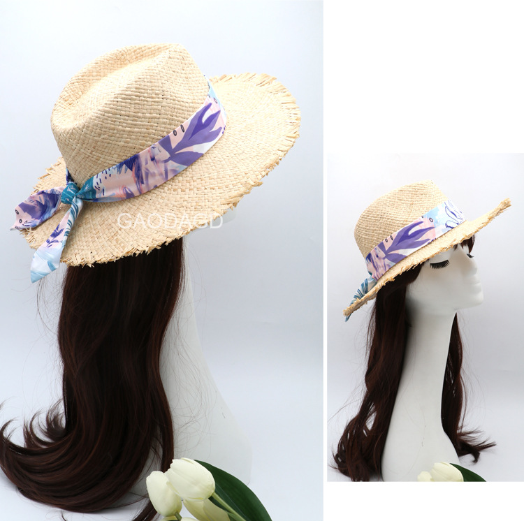 Customized best quality womens travelling Panama hats China origin