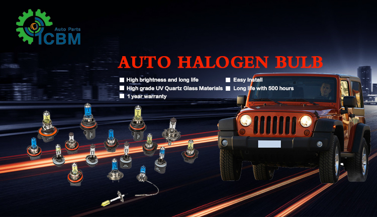 Auto Lighting System H10 12v42w blue halogen bule super white