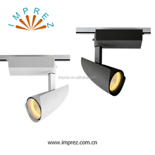 led track light 30W cob adjustable focal track rail AC 110V 220V track lighting spotlight