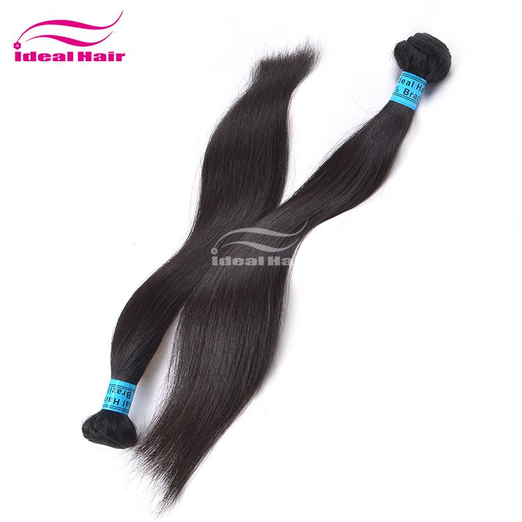 Unprocessed no chemical 28 inch virgin remy brazilian hair weft,100% durable remy human hair distributors