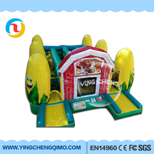 2017 New lovely inflatable Corn Cob bouncers jumper pvc inflatable bounce house for kids on sale