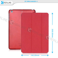 High quality three folded stand function smart case for ipad mini 4 with strong magnetic