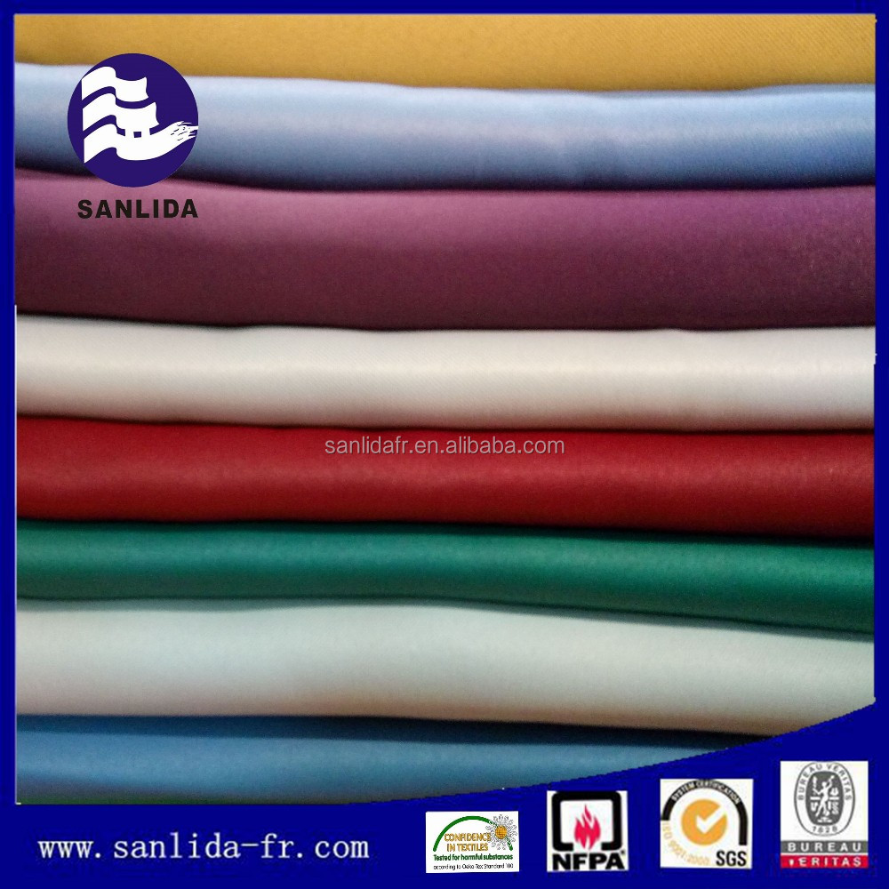 China supplier 100% polyester fabric ifr flame retardant fabric