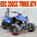 EEC 250cc 3 Wheeler Quad