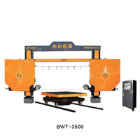 BWT-3500 CNC Diamond Mono Wire Saw Stone Cutting Machine for Block Squaring trimming with CE