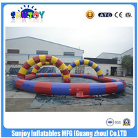 Inflatable Air Tumble Track Inflatable Tracing Track Running Way for Sale