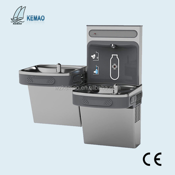 WATER COOLERS WITH EFFICIENT REFRIGERATION SYSTEMS, COOLERS WALL MOUNTED