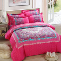 home beautiful red and white patchwork quilt and quilted patchwork bedspread