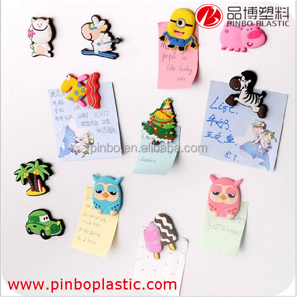 custom fridge magnets in pvc rubber or silicone,soft rubber magnet, souvenir fridge magnet