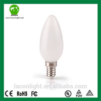 Factory directly sale CRI >80 4w Lampade Aluminum Warm White Chandelier E14 C35 Led Candle Light CRI >80