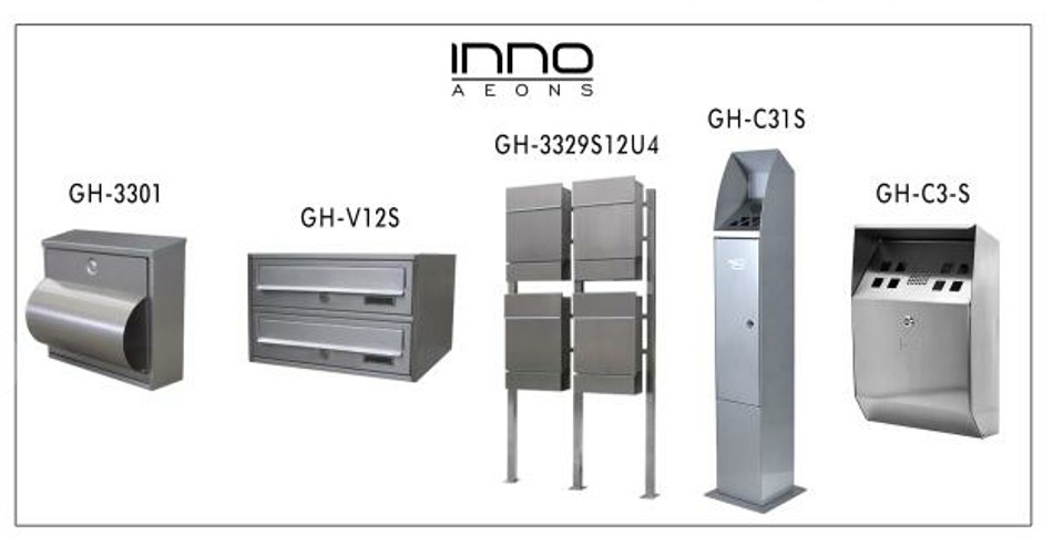 High quality stainless steel wall mounted mialbox