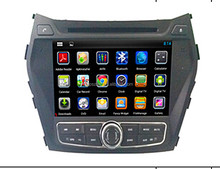 "Android 8.0 system 8"" size support DSP and gps DAB OBD wifi Eight core Car DVD player for Hyundai IX45"