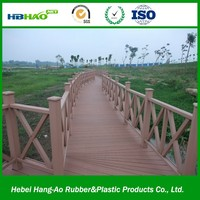 Factory price wpc plank eco-friendly wood plastic composite flooring waterproof and fireproof wpc decking