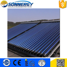 Hot sale EN 12975 &amp SRCC heat pipe solar collector for water heater With Bottom Price