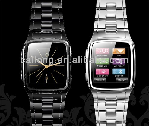 Ultra Thin Stainless Steel TW810 Watch Mobile Phone