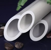 Plastic PPR AL stable composite water pipe and fittings for heating system comply with CJ/T 210-2005