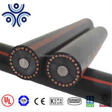UL Certified 1/0 2/0 5KV URD single core AL/CU conductor copper wire screened power cable made in China